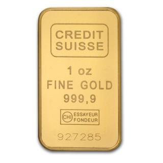 1 oz brick gold