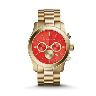 Runway Gold Tone Watch