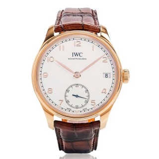 IWC Watches - Portuguese Hand-Wound Eight Days